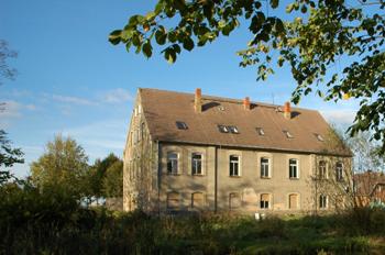 Hotel Gutshaus Parin vorher